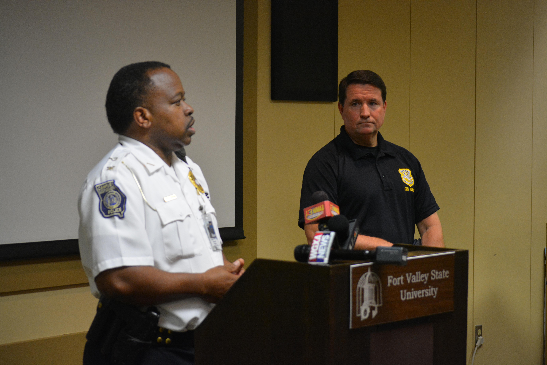 Campus Police Chief Kenneth Morgan