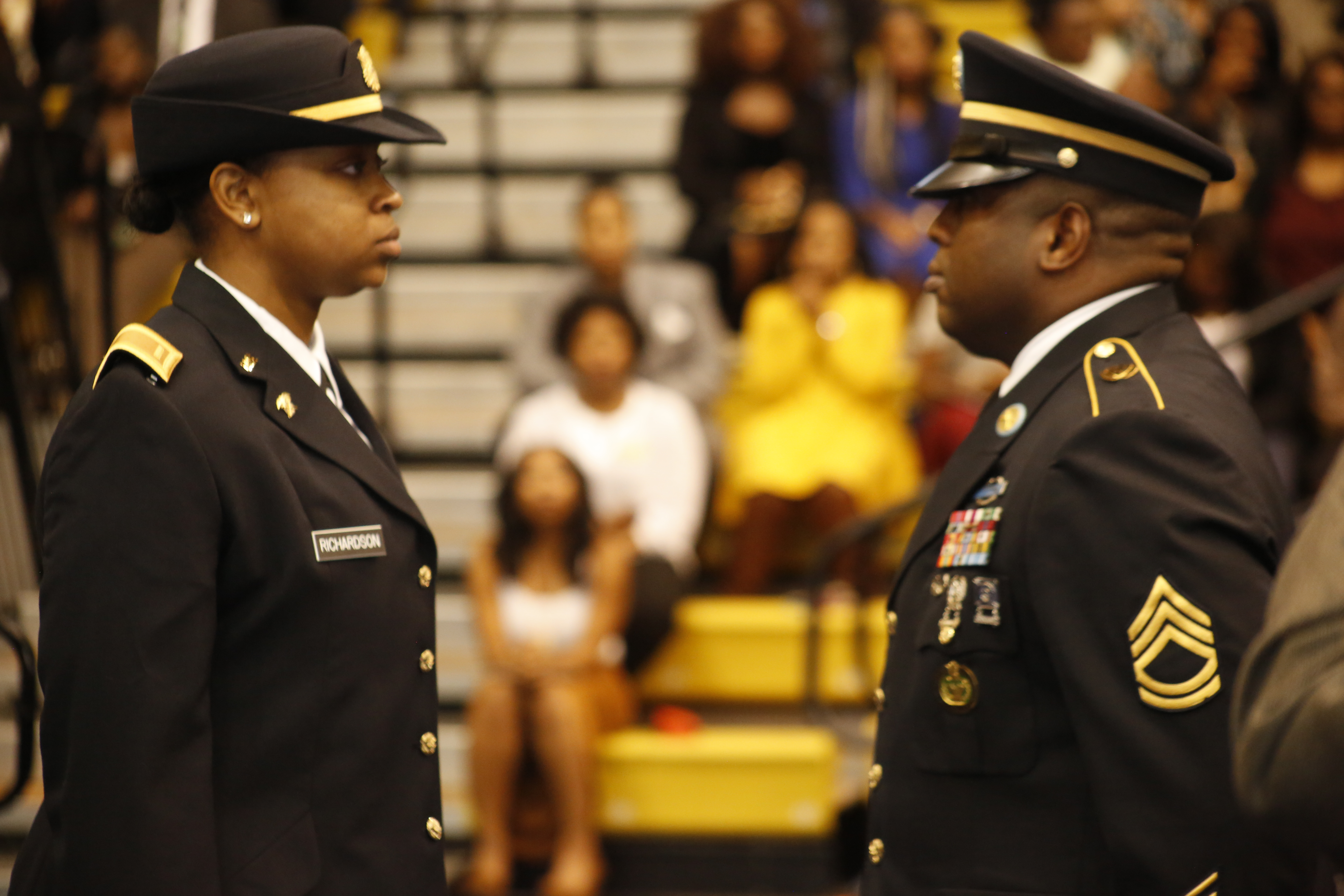 Cadets Commissioned