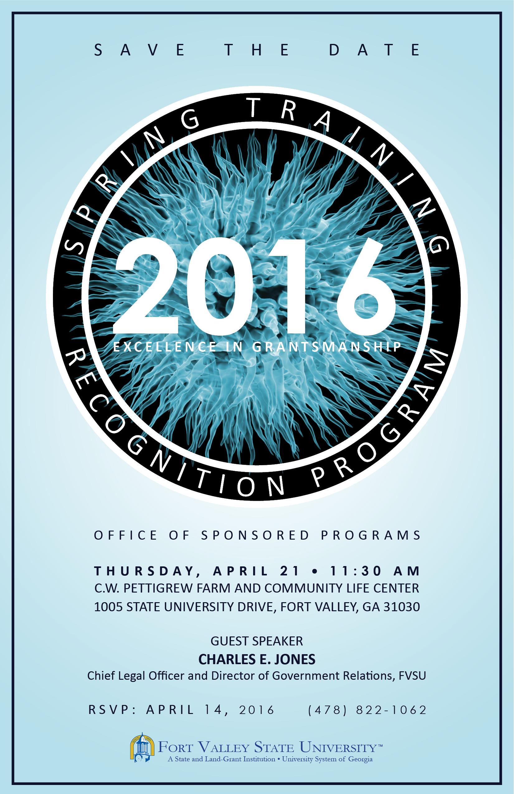 Spring Recognition Program