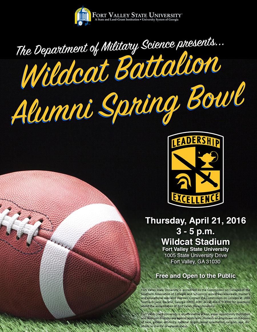 Wildcat Battalion Spring Bowl