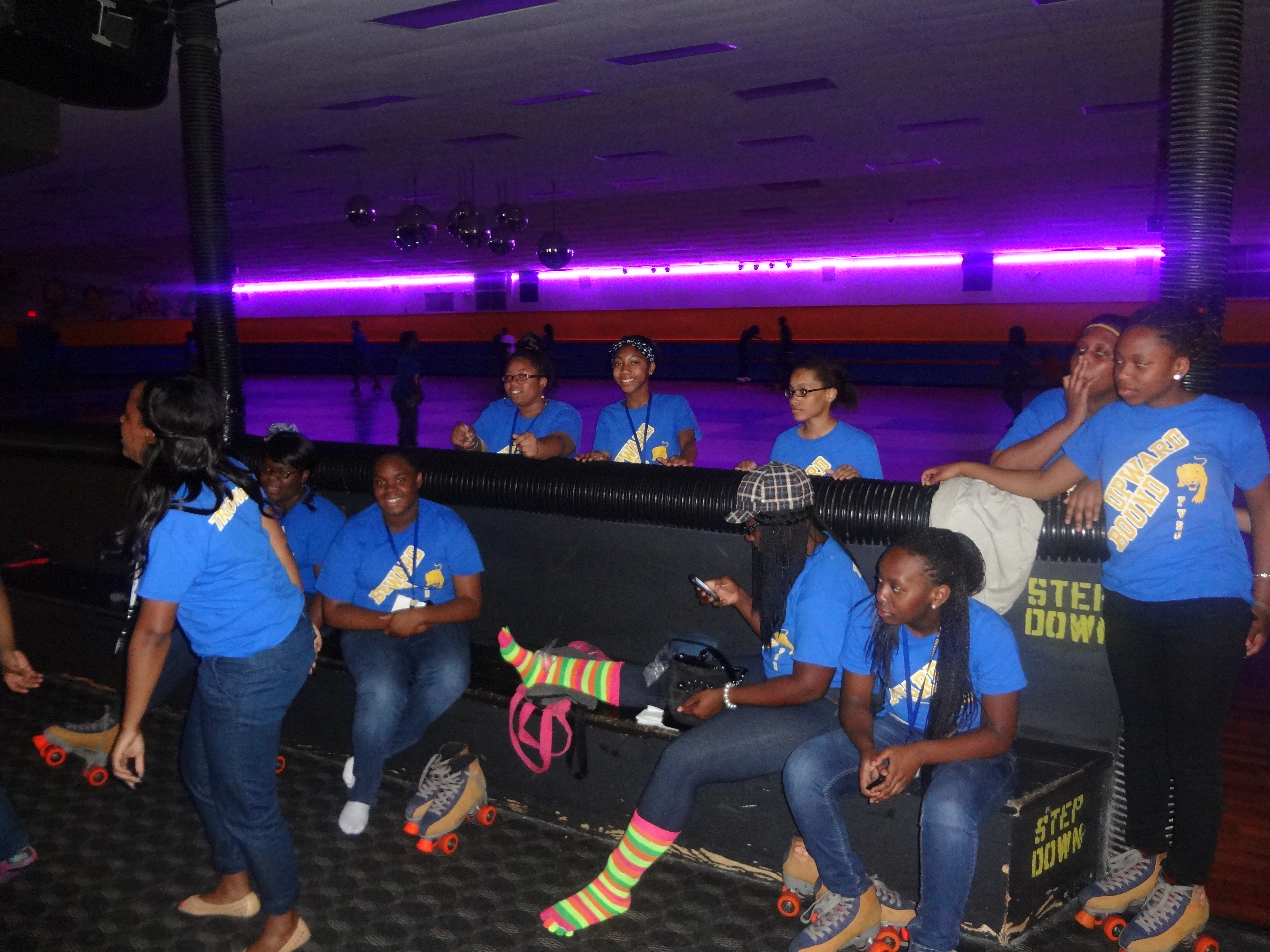 FVSU UPWARD BOUND students