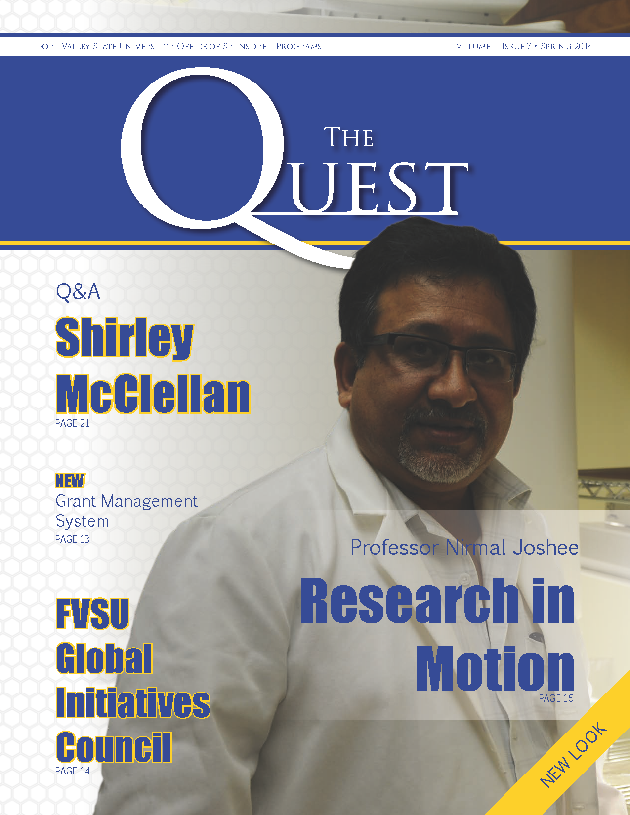 The Quest Magazine cover 2014