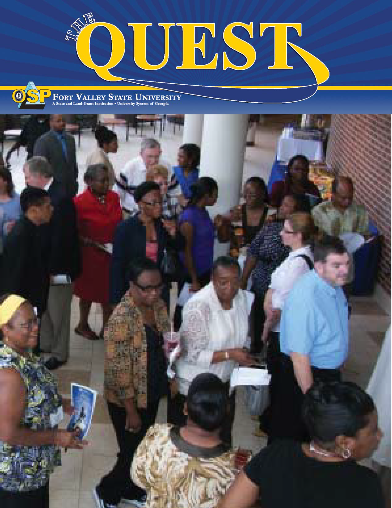 The Quest Magazine Cover Spring 2011