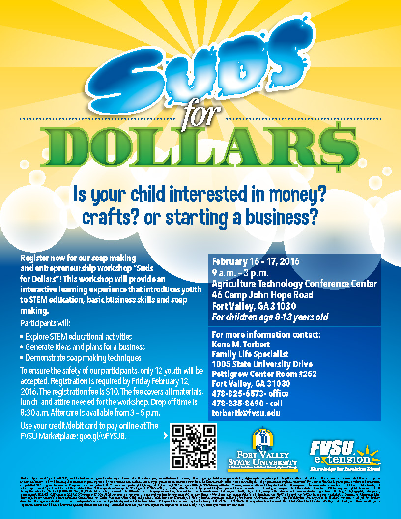 Suds for Dollars Flyer