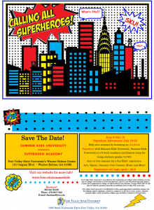 Summer Kids University Superhero Academy Week @ FVSU Warner Robins Center | Warner Robins | Georgia | United States