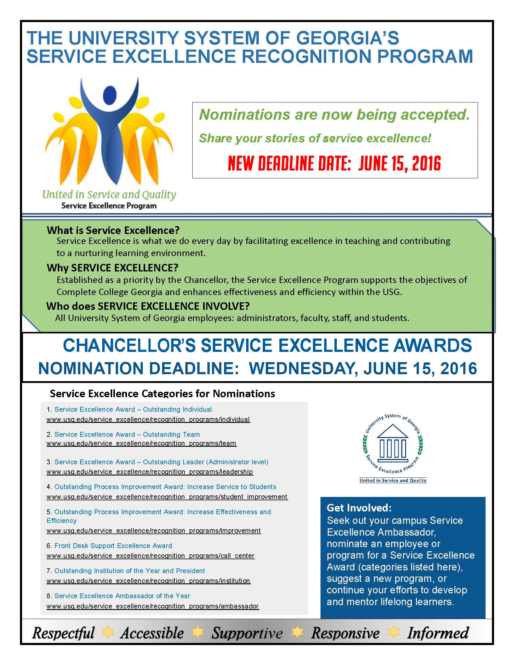 USG Chancellor Awards