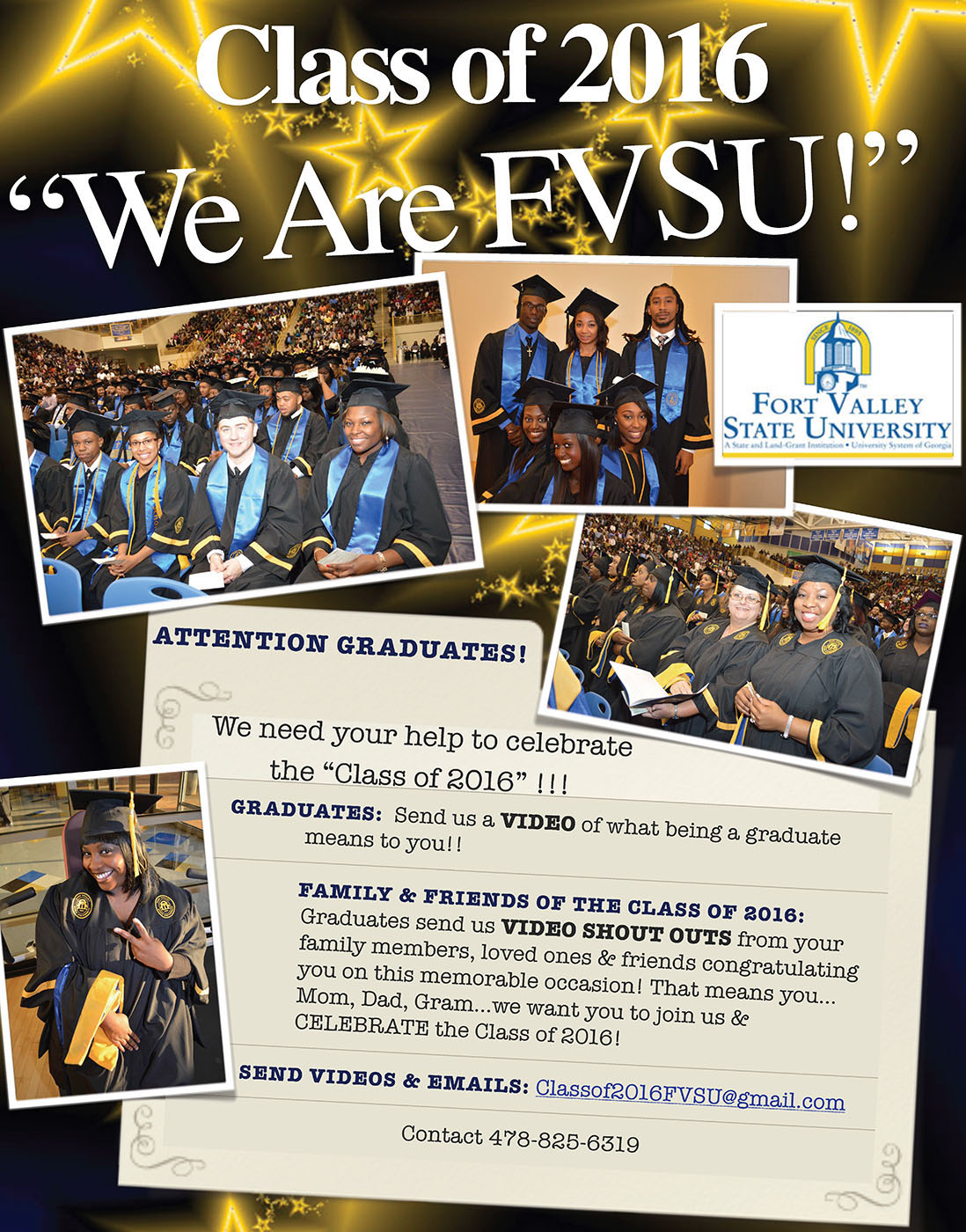 We are FVSU Shout-Out