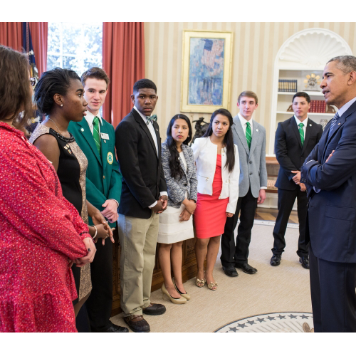 FVSU 4-H'er earns trip to the White House