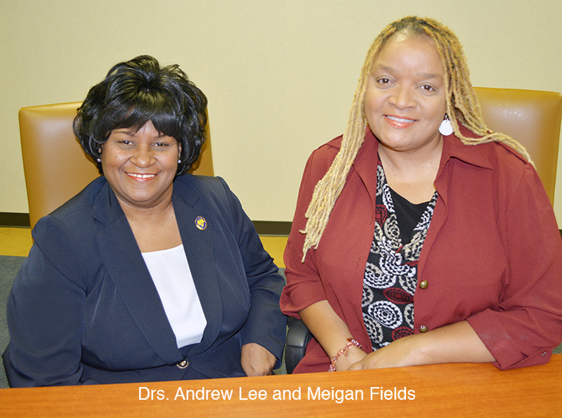 Dr. Andrew Lee and Dr. Meigan Fields