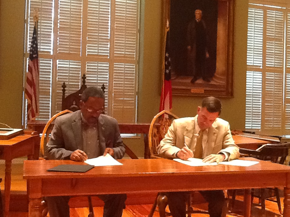 FVSU pens articulation agreement with Georgia Military College