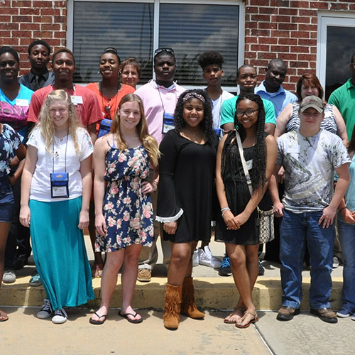 Students attending FVSU's Ag Discovery program.