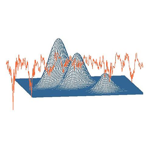Statistics graph art