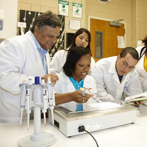 Biotechnology Students photo