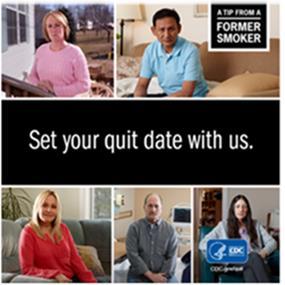 CDC Quit Smoking flyer