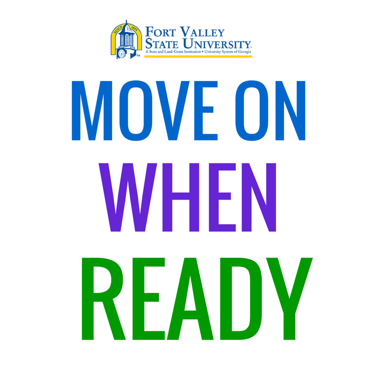 Move ON When Ready poster
