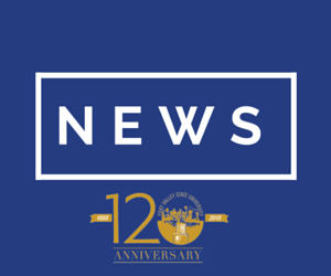 120th Anniversary news icon