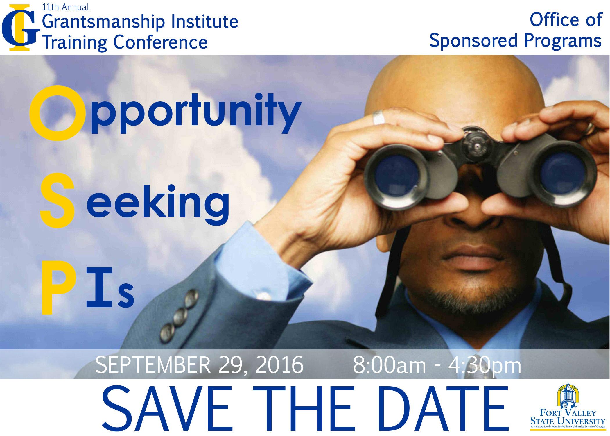 Grantsmanship Conference