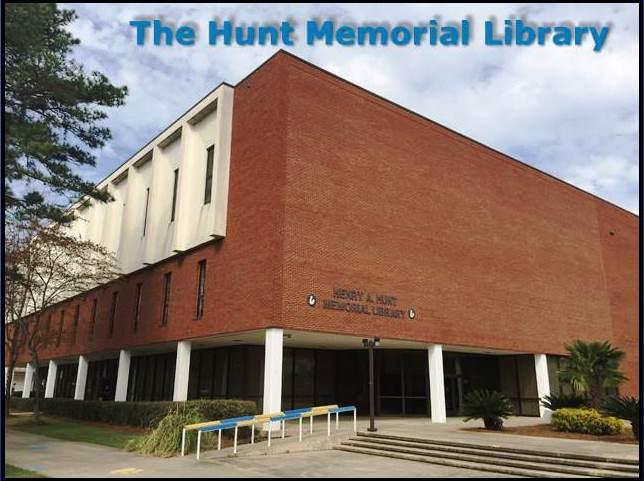 Hunt Memorial Library art