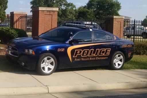 FVSU Campus Safety police car