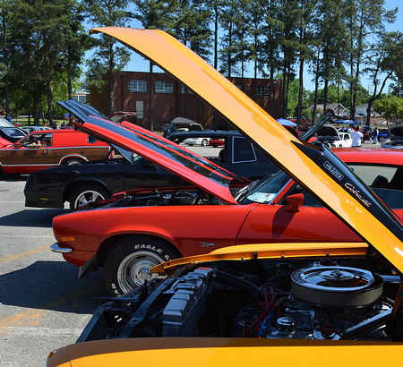 Cars at the FVSU Wheeles in the Valley, Car, Truck and Motorcycle Show.