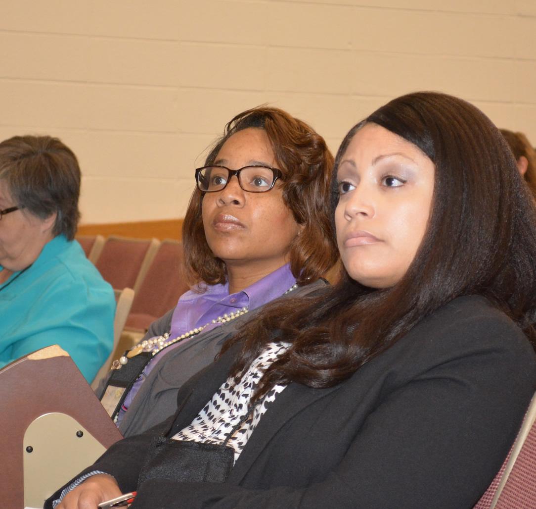 Audience members at Grantsmanship Institute in 2014.