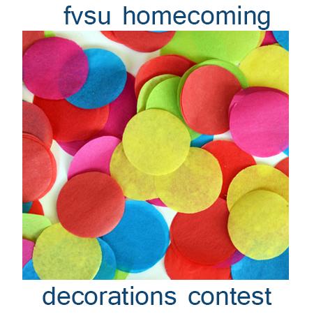FVSU Decorations Contest Flyer