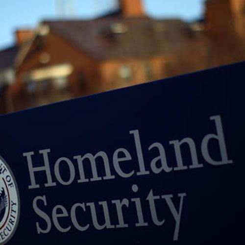 Homeland security artwork.