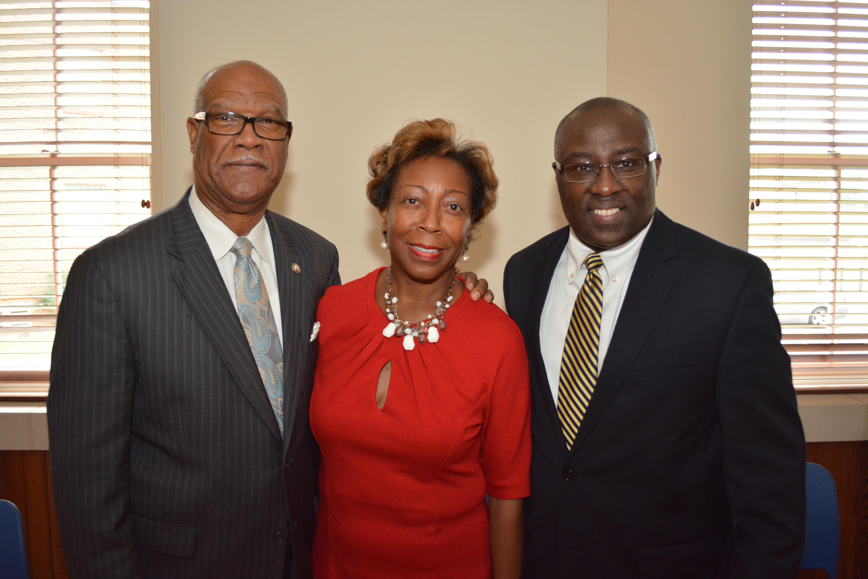 Rep.Calvin Smyre, Dr. Paul Jones and Senator Freddie Powell-Sims