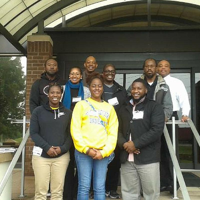 FVSU students at Georgia port authority.