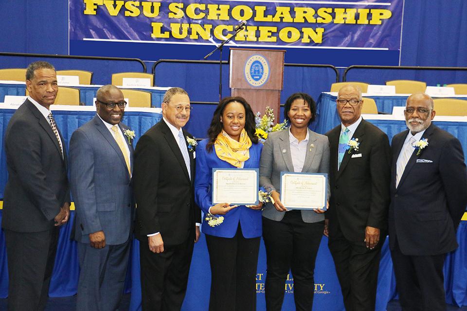 FVSU Scholars Smyre Bishop