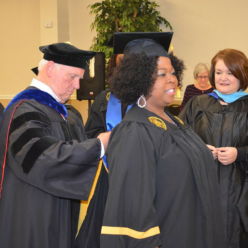 FVSU School Counselor Education Hooding Ceremony