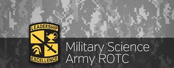 Military Science ROTC banner