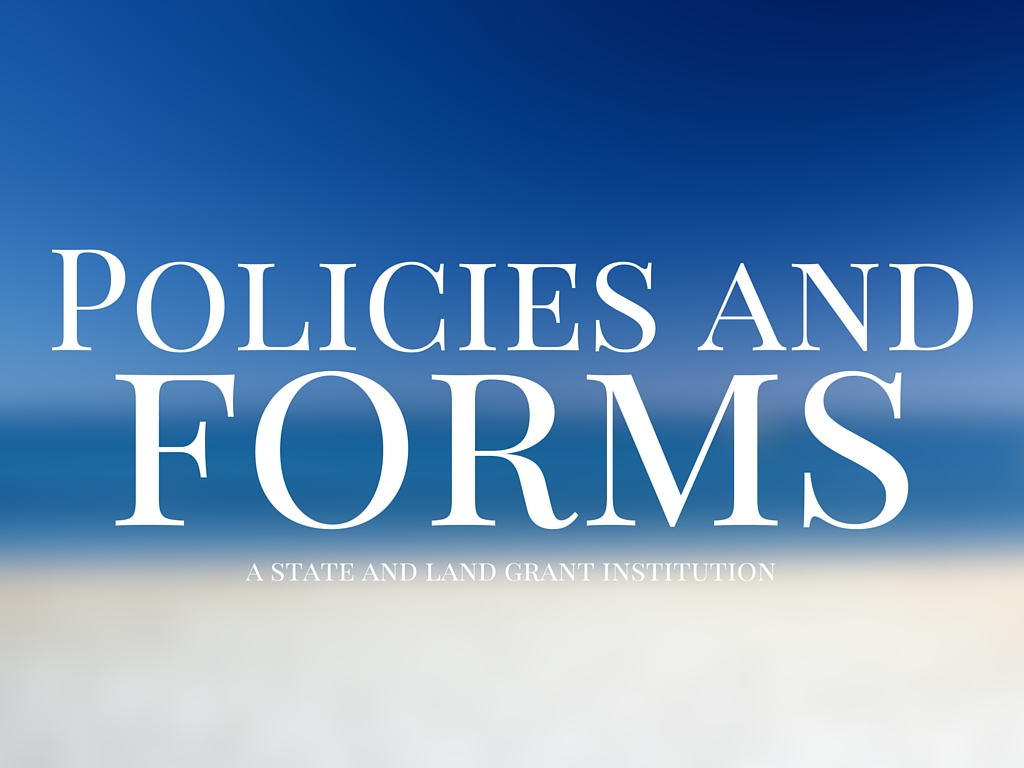 Policies and forms art