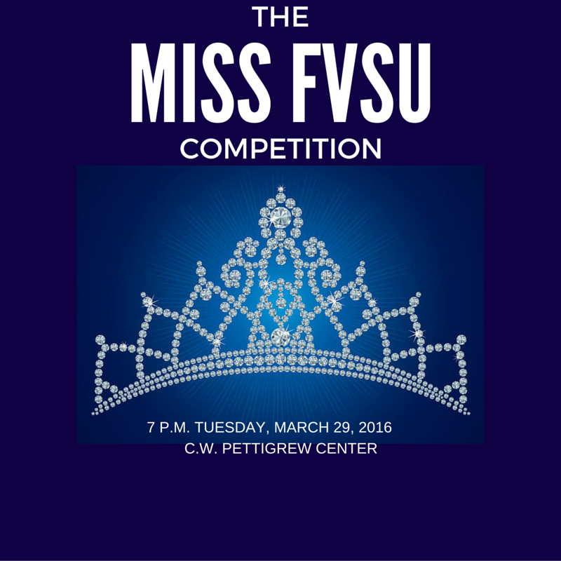 Miss FVSU Competition Poster
