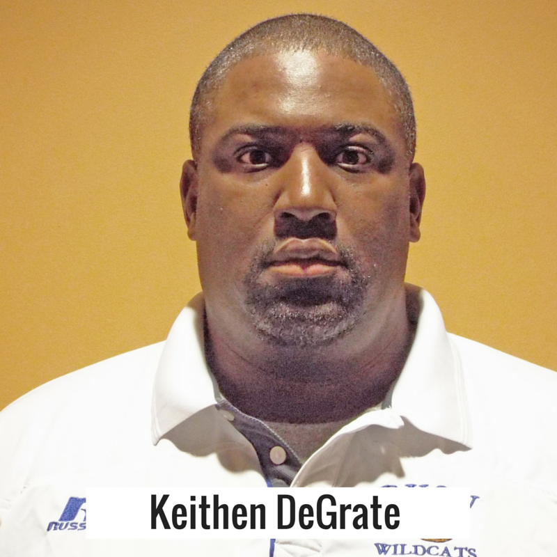 Keithan DeGrate, interim Head Coach for the Wildcats