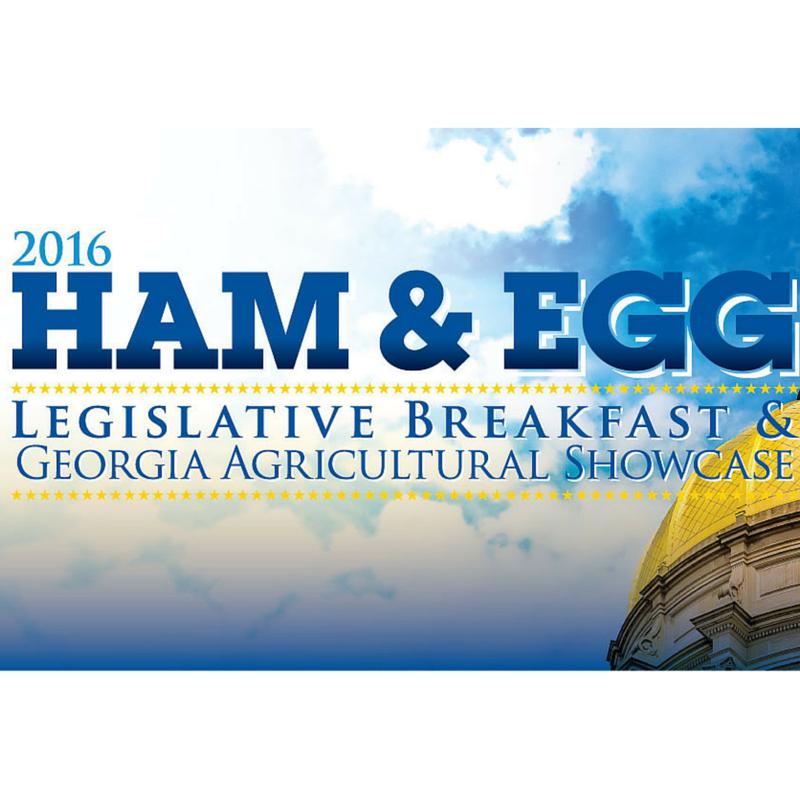 Ham and Egg Legislative Breakfast poster