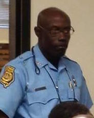 Campus security officer Earnest Johnson
