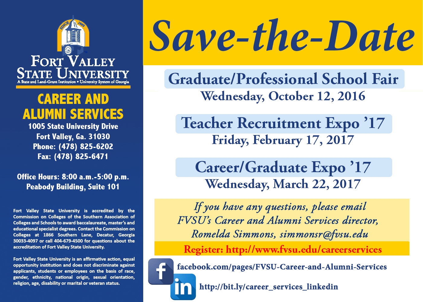 Career Save the Date