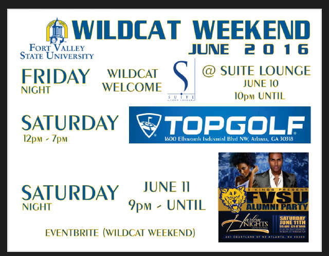Wildcat Weekend event