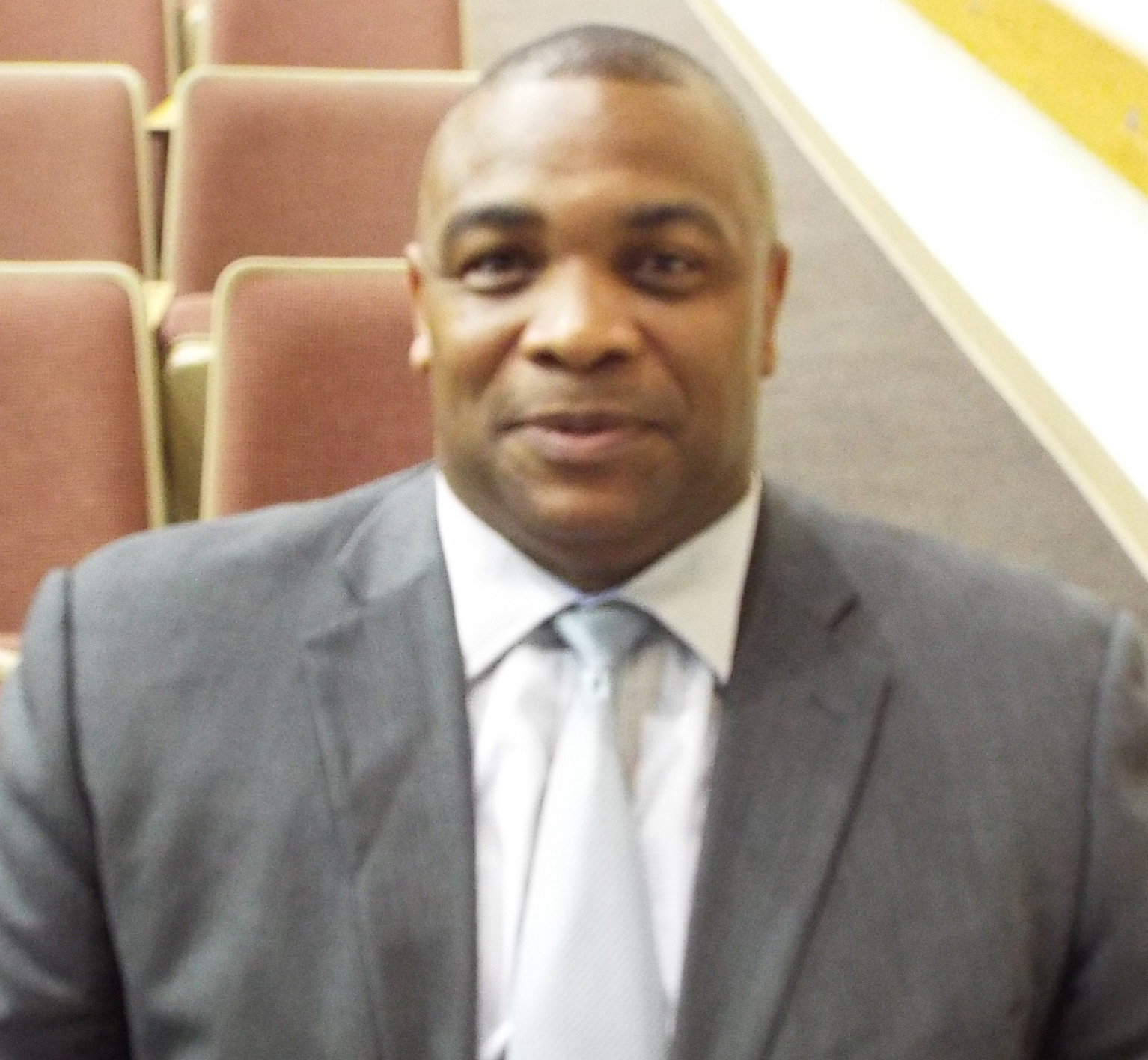 Head football coach Kevin Porter