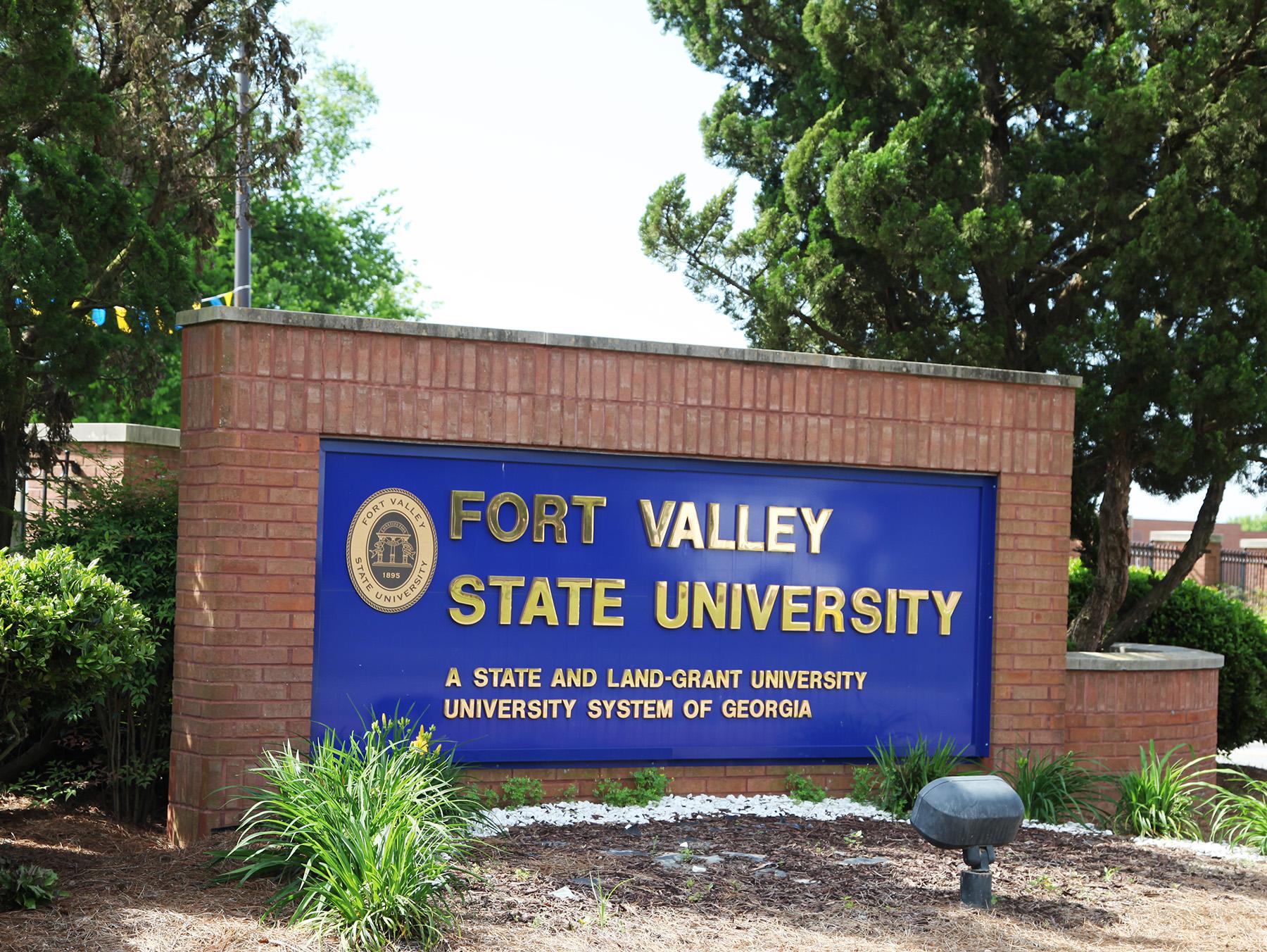 FVSU Sign