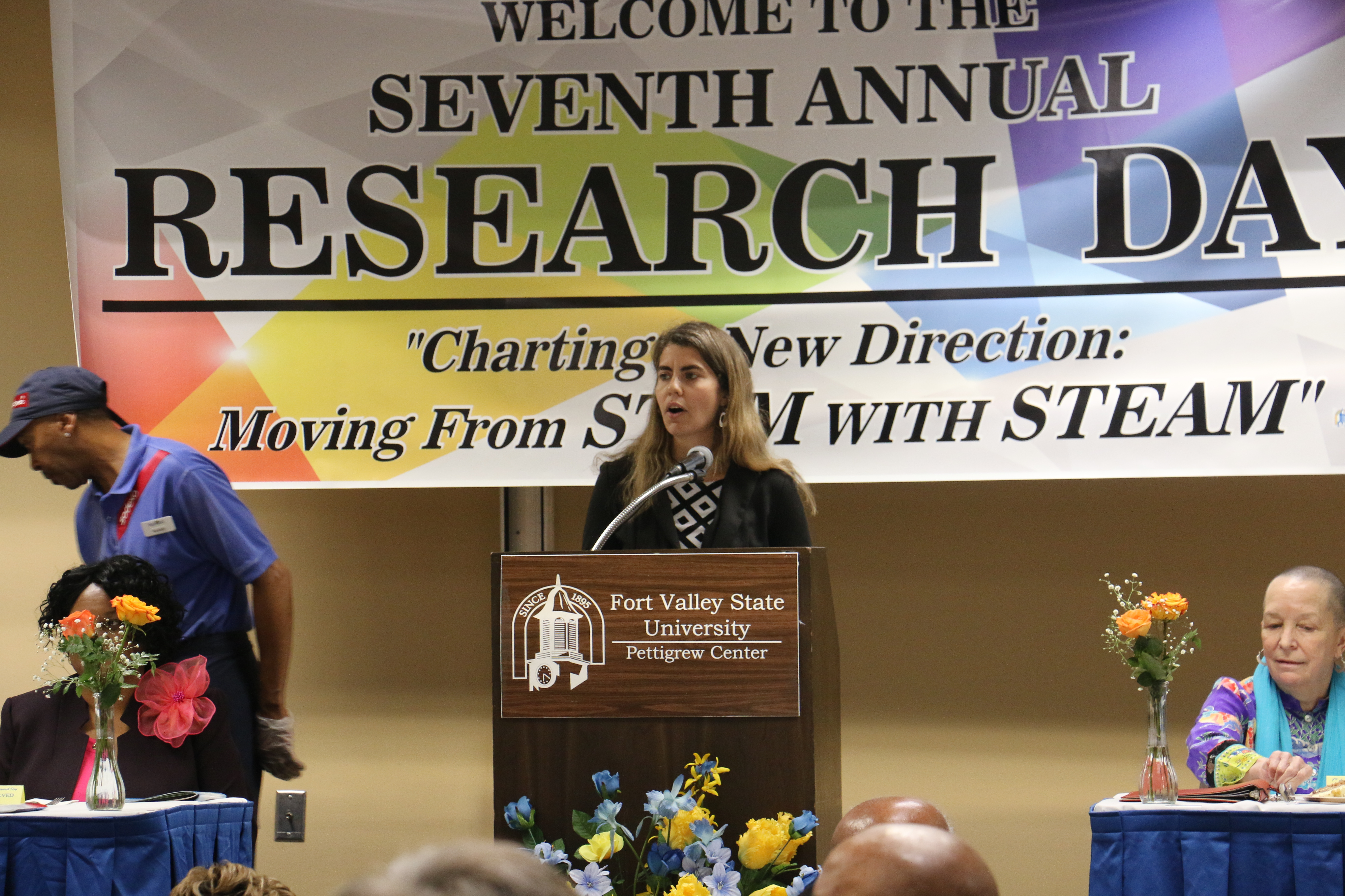 Dr. Celia Dodd speaks at the 7th Annual Research Day