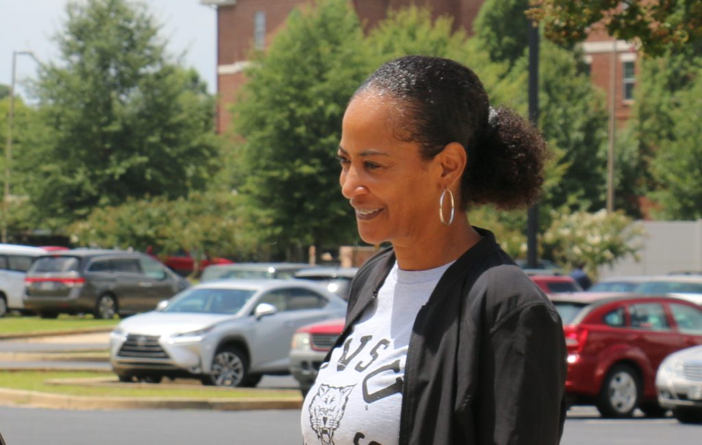 Shirley Ellis on campus