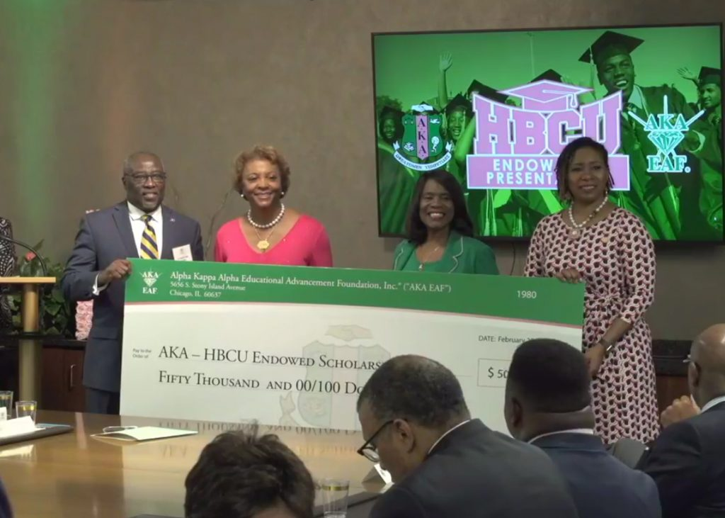 FORT VALLEY STATE UNIVERSITY RECEIVES 50 000 INSTALLMENT OF