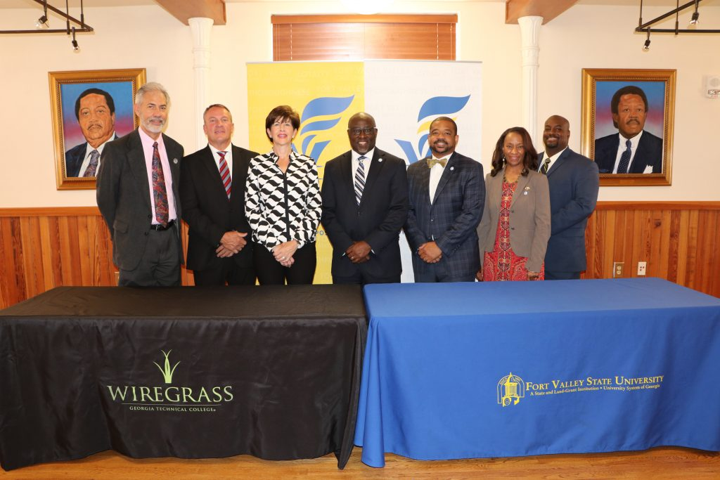 Articulation Agreement Signing FVSU and WGTC